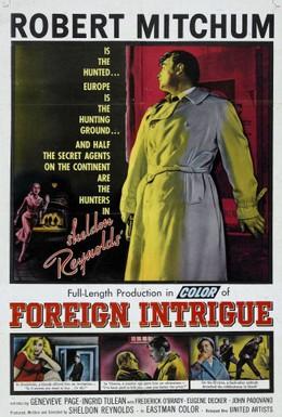 Постер фильма Иностранная интрига (1956)