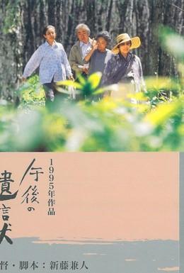 Постер фильма Послеобеденное завещание (1995)