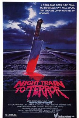 Постер фильма Поезд страха (1985)