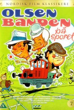 Постер фильма Банда Ольсена идет по следу (1975)