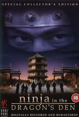Постер фильма Ниндзя в логове дракона (1982)