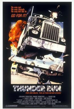 Постер фильма Дни Грома (1986)