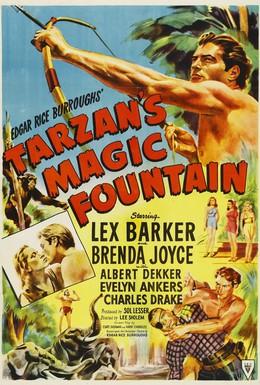 Постер фильма Волшебный фонтан Тарзана (1949)