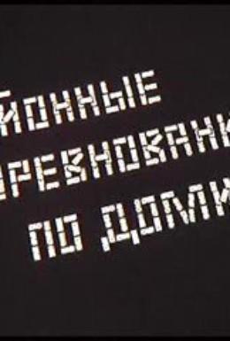 Постер фильма Районные соревнования по домино (1989)