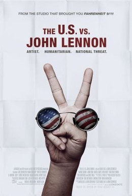 Постер фильма США против Джона Леннона (2006)