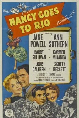 Постер фильма Нэнси едет в Рио (1950)