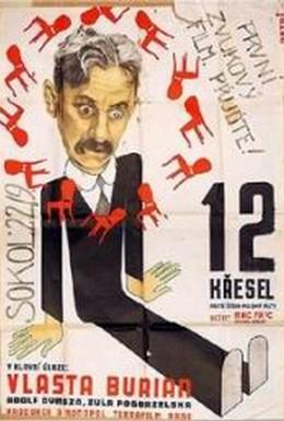Постер фильма Двенадцать стульев (1933)