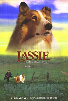 Постер фильма Лэсси (1994)