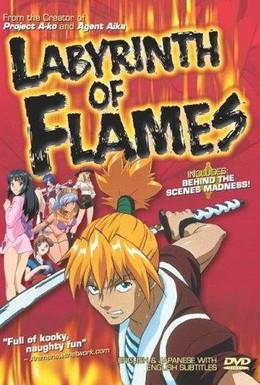 Постер фильма Пламенный лабиринт (2000)