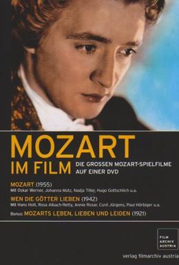 Постер фильма Жизнь, любовь и страдания Моцарта (1921)