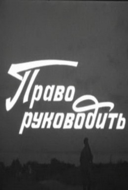 Постер фильма Право руководить (1981)