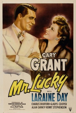 Постер фильма Мистер Счастливчик (1943)