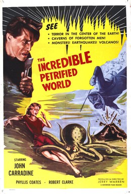Постер фильма Невероятный окаменевший мир  (1957)