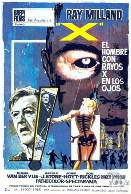 Постер фильма Человек с рентгеновскими глазами (1963)