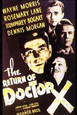Постер фильма Возвращение доктора X (1939)