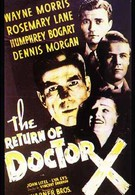 Возвращение доктора X (1939)