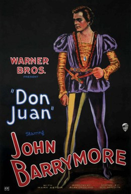 Постер фильма Дон Жуан (1926)