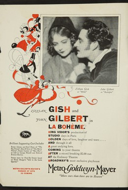 Постер фильма Богема (1926)