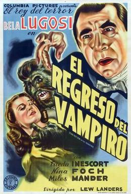 Постер фильма Возвращение вампира (1943)