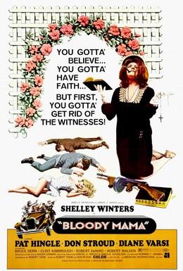 Постер фильма Кровавая мама (1970)