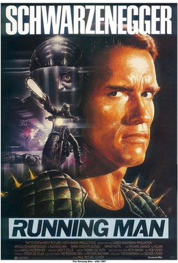 Постер фильма Бегущий человек (1987)