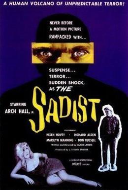Постер фильма Садист (1963)