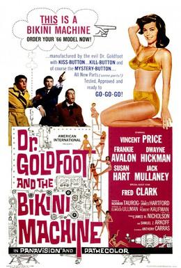 Постер фильма Доктор Голдфут и бикини-машины (1965)