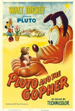 Постер фильма Плуто и суслик (1950)