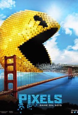 Постер фильма Пиксели (2015)