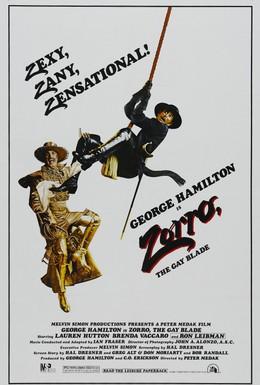 Постер фильма Зорро, голубой клинок (1981)
