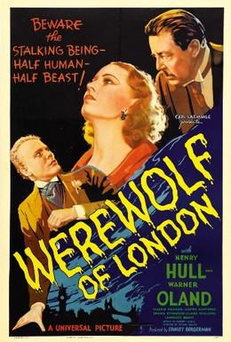Постер фильма Лондонский оборотень (1935)