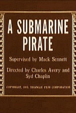 Постер фильма Подводный пират (1915)