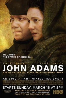 Постер фильма Джон Адамс (2008)