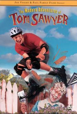 Постер фильма Новые приключения Тома Сойера (1998)