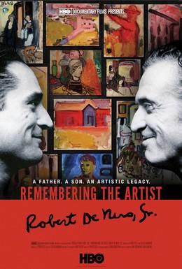 Постер фильма Воспоминания о художнике. Роберт Де Ниро-старший (2014)
