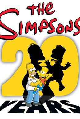 Постер фильма К 20-летию Симпсонов: В 3D! На льду! (2010)