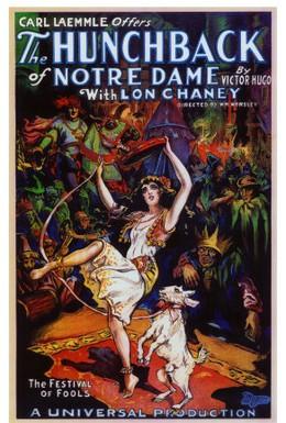 Постер фильма Горбун из Нотр Дама (1923)