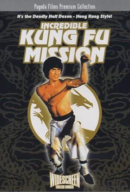 Постер фильма Невероятная миссия Кунг-фу (1979)
