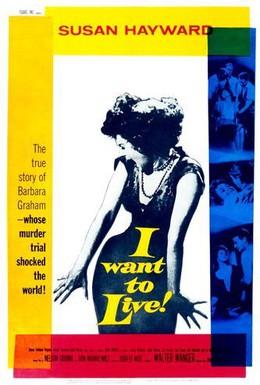 Постер фильма Я хочу жить! (1958)