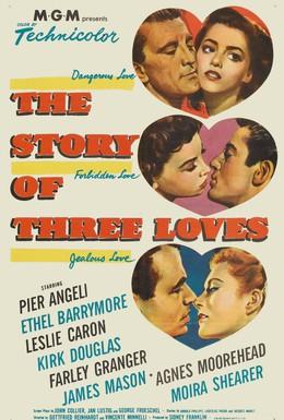 Постер фильма Три истории любви (1953)