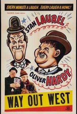 Постер фильма Путь с Запада (1937)