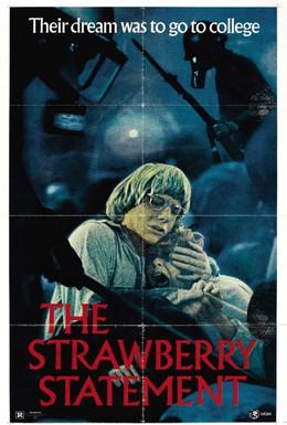 Постер фильма Земляничное заявление (1970)
