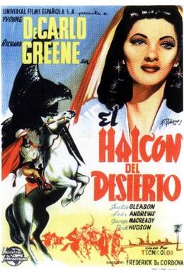Постер фильма Ястреб пустыни (1950)