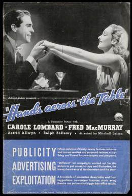 Постер фильма Руки на столе (1935)