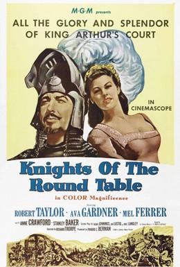 Постер фильма Рыцари круглого стола (1953)