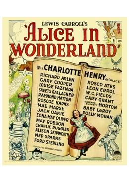 Постер фильма Алиса в стране чудес (1933)
