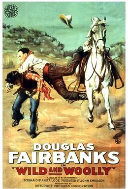 Постер фильма Дикий и дремучий (1917)