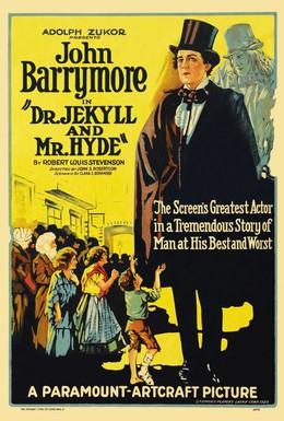 Постер фильма Доктор Джекилл и Мистер Хайд (1920)