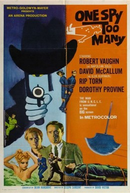 Постер фильма Один шпион – это слишком много (1966)