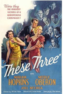 Постер фильма Эти трое (1936)